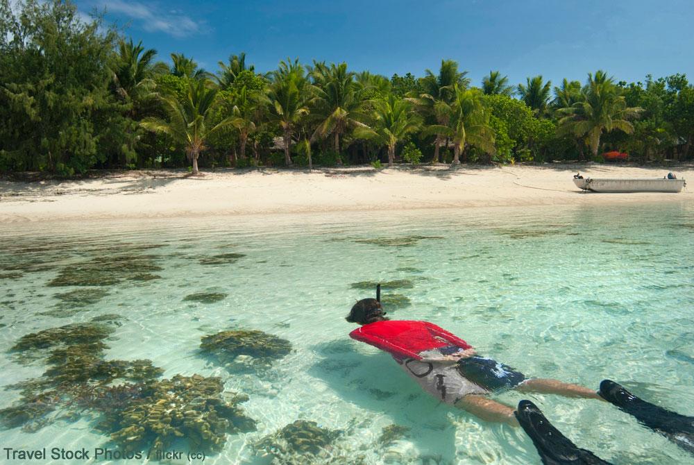 Как да изберем плавници за гмуркане на тропически остров?
