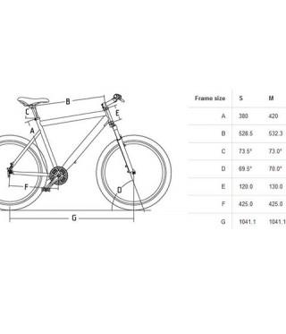 13abd1561c5 Велосипед CROSS DEXTER 26 disc - кафяв ...