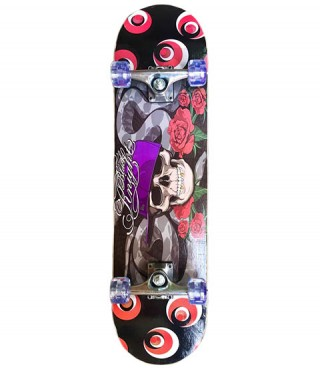 Скейтборд SPARTAN Super Board Skull