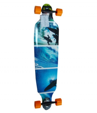Лонгборд SPARTAN DROP SHAPE  SURF BLUE
