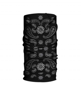 Шал-кърпа H.A.D. Merino India paisley black