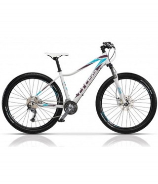 Велосипед FUSION LADY WHITE BLUE 27.5 инча