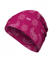 Шапка H.A.D Merino India Paisley Berry